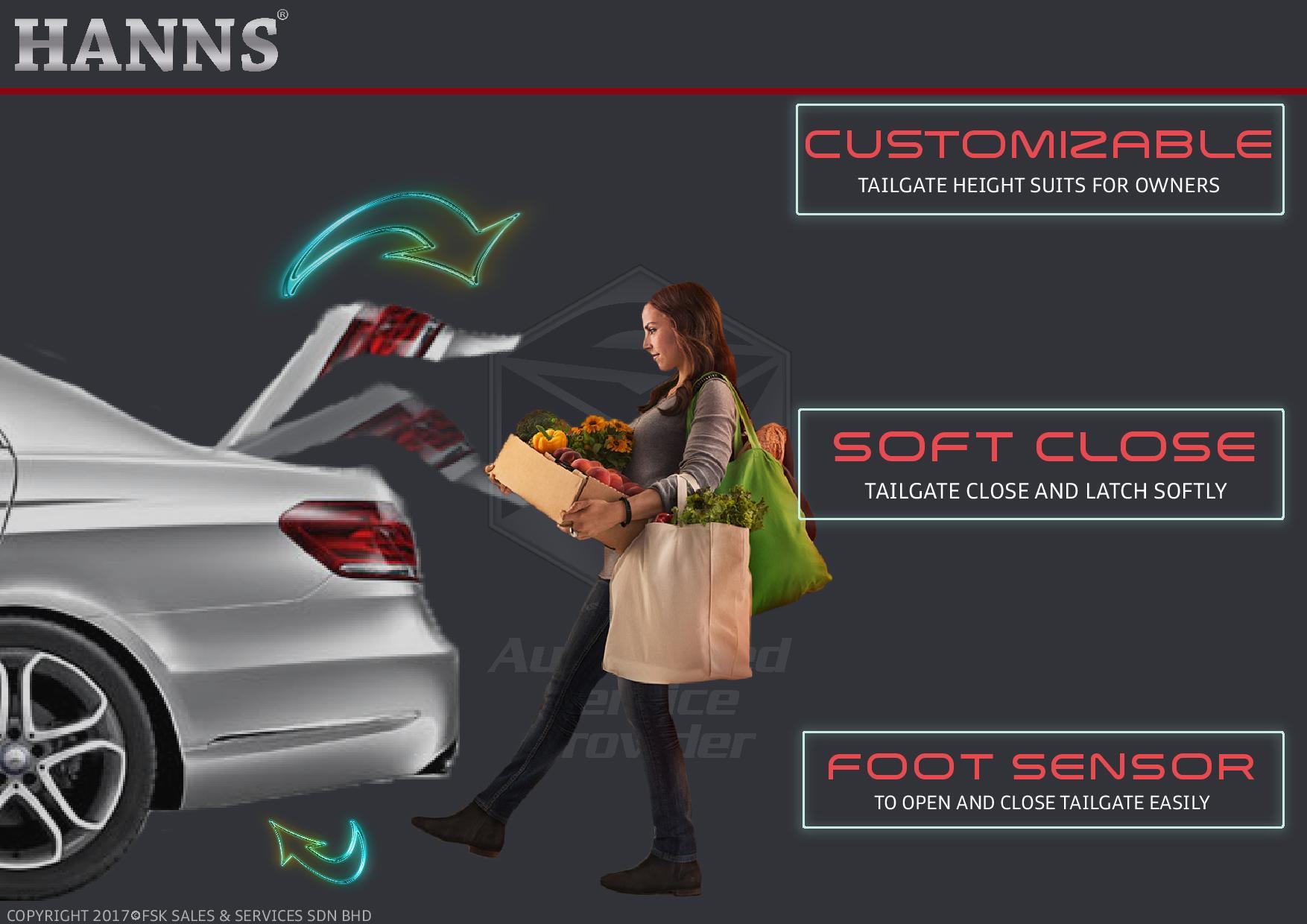 Automatic Tailgate Power Tailgate E Class Mercedes